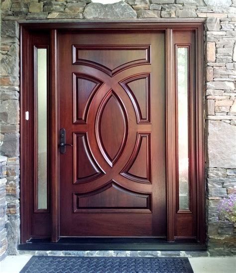 custom front doors exterior door gallery wooden door pictures