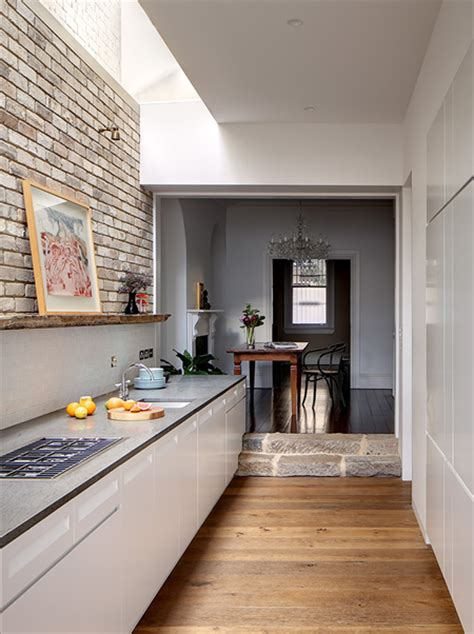 galley kitchen extension ideas home dzine kitchen kitchen goes from and dingy to