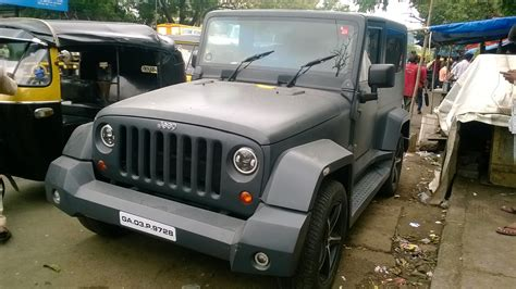 Modified To by Modified Mahindra Thar To Wrangler My