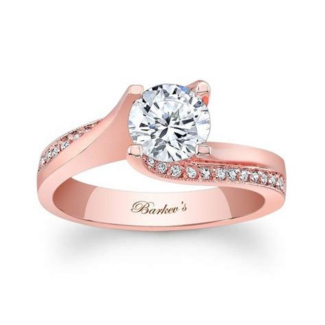 rose gold engagement rings for women 6 life n fashion