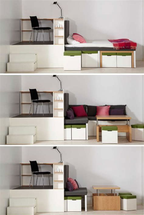 all in one bedroom furniture prototype to reality space saving bedroom set