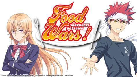 food wars food wars at hulu