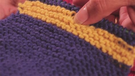 how to change yarn colors when knitting in the changing yarn colors when knitting a sweater ehow