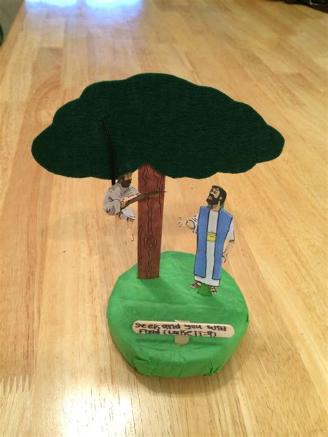 zacchaeus crafts for zacchaeus in a tree zaqueo en el arbol zacchaeus