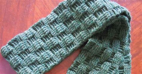 weave knit scarf pattern illuminate crochet s crochet and basketweave scarf