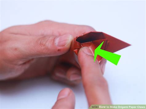 origami paper claw 3 ways to make origami paper claws wikihow
