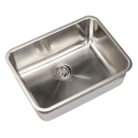 brushed stainless steel kitchen sinks american standard prevoir undermount brushed stainless