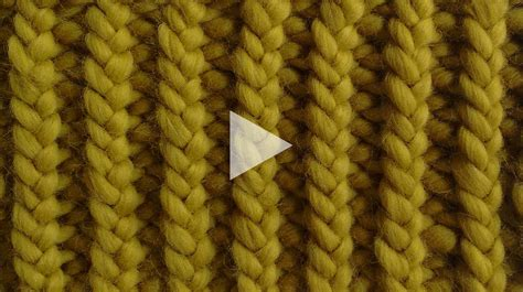 how to rib stitch knit how to knit 1x1 rib stitch watg