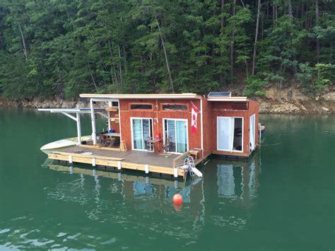 floating houses fontana float house