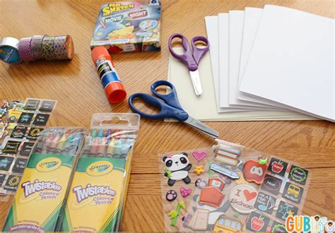 card supplies back to school card gublife