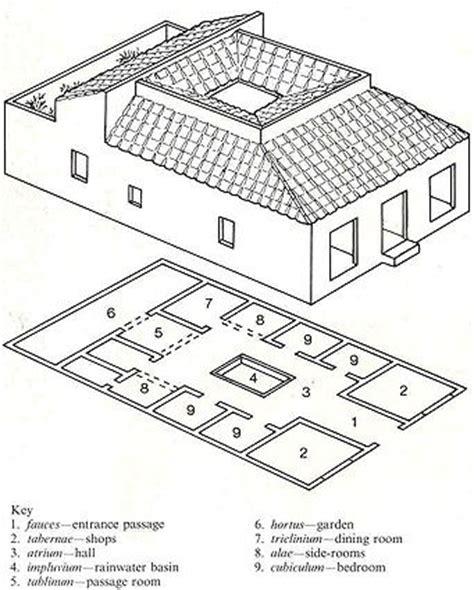 pompeian house plan typical pompeian house plan search house