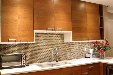 backsplash sticky tiles contemporary kitchen ideas with brown mosaic glass self