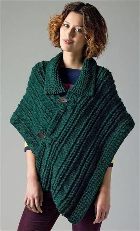 poncho free knitting pattern poncho knitting patterns in the loop knitting