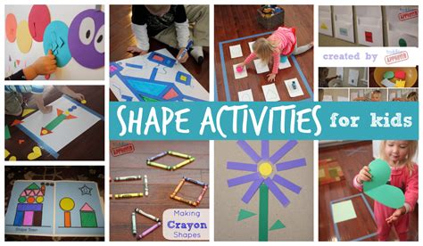 and crafts activities for toddler approved 25 shape activities and crafts for