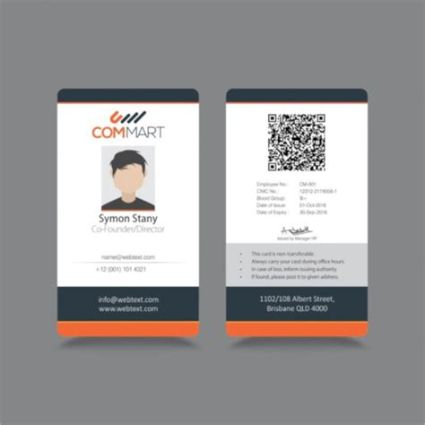 make identification card free 21 id cards psd vector eps