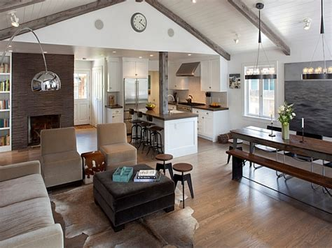 kitchen living room open floor plan rustic contemporary furniture country rustic living room rustic living room and kitchen open