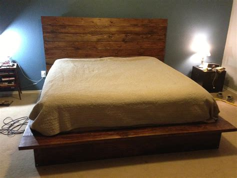 diy bed frame fly fisherman diy bed frame