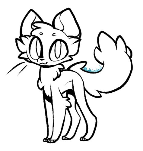 paint tool sai transparent background free cat lineart by thisaccountisdead462 on deviantart