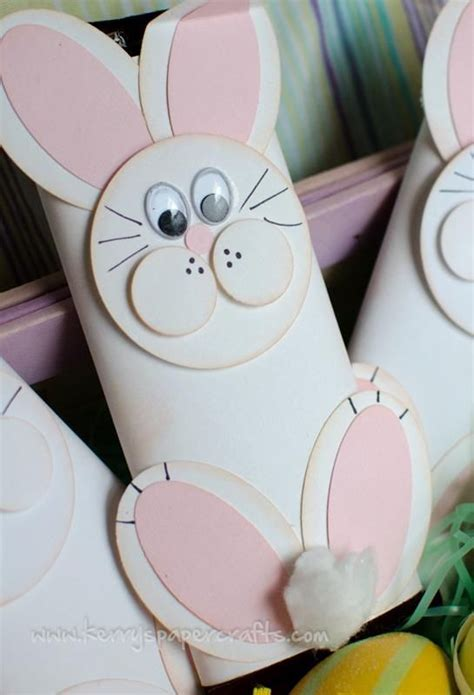 toilet paper easter bunny craft easter bunny craft with toilet paper roll toilet