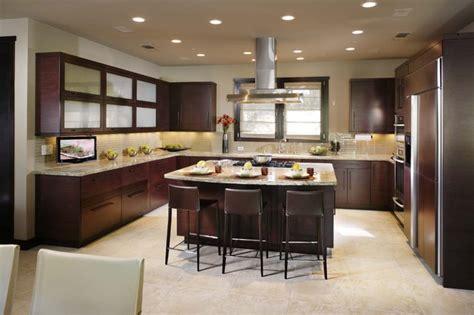 modern open plan kitchen designs open plan kitchen