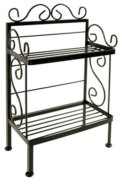 Kitchen Island Table On Wheels wrought iron plant stand traditional baker s racks