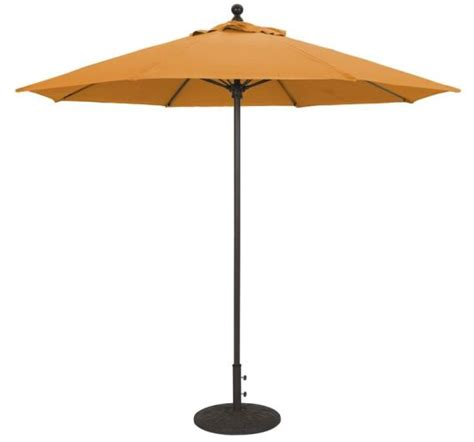 commercial patio umbrella 9 aluminum commercial patio umbrella with manual tilt