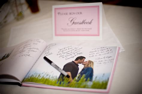 picture guest book wedding guest book inspiration