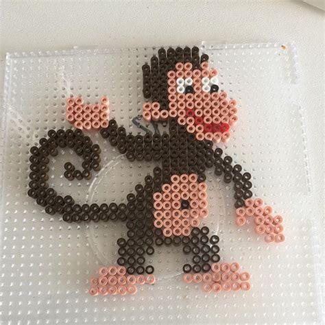perler monkey pattern 1000 ideas about hama animals on bead