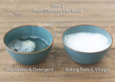 unclog kitchen sink vinegar baking soda why you should never use baking soda and vinegar to clean