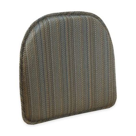 buy ruxton chair pad in gray from bed bath beyond