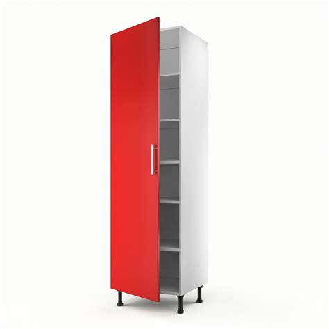 meuble de cuisine colonne 1 porte d 233 lice h 200 x l 60 x p 56 cm leroy merlin