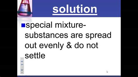 What are mixtures and solutions? YouTube