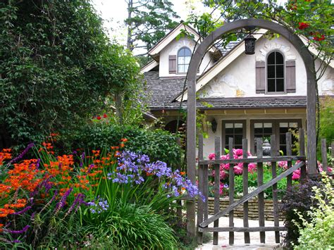 Carmel's Cottage Gardens  Once Upon A Timetales From