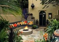 perfect patio wall decor ideas Moroccan Patios, Courtyards Ideas, Photos, Decor And ...