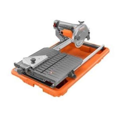 ridgid r4030 7 quot tile saw power saws