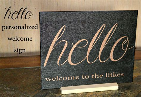 'hello' Personalized Welcome Sign  Three Different Directions. Oregon City Garage Door. Garage Light Bulb Replacement. Hurricane Doors Prices. Garage Door Doctor. Solid Interior Door. Garage Door Repair Bothell. Bronze Fireplace Doors. Garage Door Repair Jackson Ms