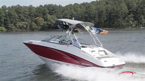 Boat R Videos by Yamaha Ar190 2016 Review Video By Boattest Youtube
