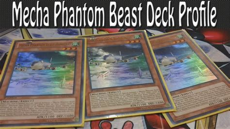 mecha phantom beast deck profile post judgment of the light