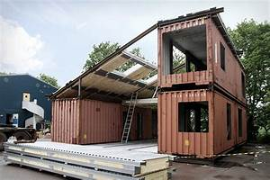 Container Als Garage : the creative green design of a shipping container home ~ Markanthonyermac.com Haus und Dekorationen