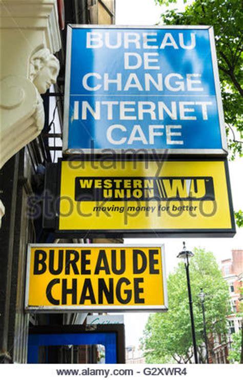 western union money transfer bureau de change in uk stock photo royalty free image