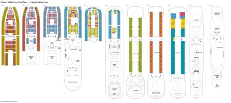 majesty of the seas deck plans diagrams pictures