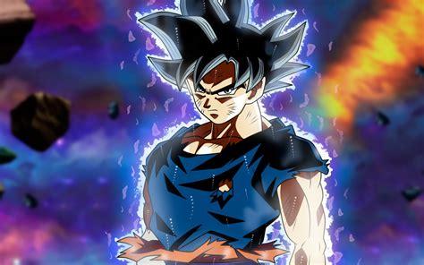 Wallpaper Ultra Instinct Goku, Dragon Ball Super, 5k