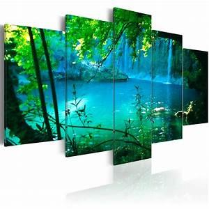 Leinwand Xxl Kaufen : leinwand bilder xxl fertig aufgespannt bild landschaft wasser c a 0002 b n ebay ~ Whattoseeinmadrid.com Haus und Dekorationen