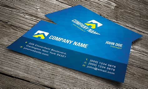 Cool Creative Business Card Template » Free Download » Cv00002