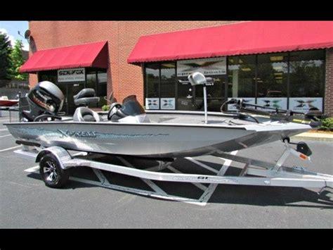 Xpress Fishing Boat For Sale by 2018 Bass Boat Xpress X18 Pro Tournament Bass Fishing Boat