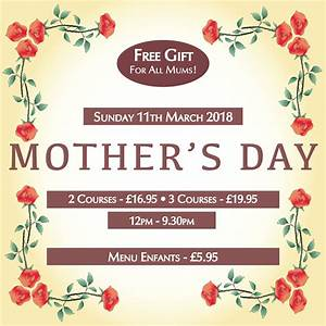Mother's Day 2018 - Chez Jules