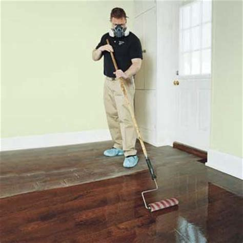 roll out the poly how to refinish wood floors this