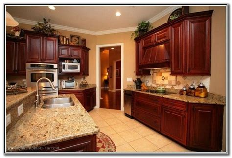 Paint Colors For Kitchens With Dark Wood Cabinets, Kitchen