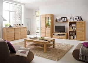Wohnzimmer Eiche Massiv : wohnzimmer pisa 42 eiche bianco massiv 6 teilig wohnwand couchtisch wohnbereiche wohnzimmer ~ Markanthonyermac.com Haus und Dekorationen