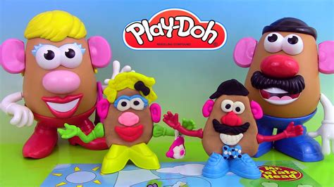 p 226 te 224 modeler play doh mr potato mr patate coiffeur jouets play doh story